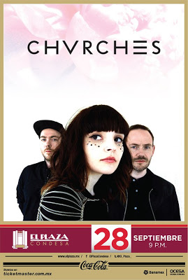 Chvrches Mexico 2016