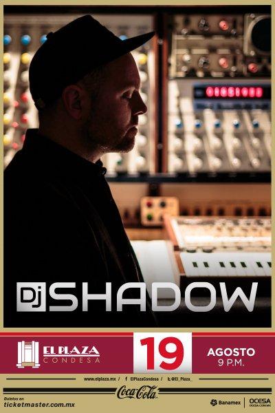 DJ  Shadow México 2016