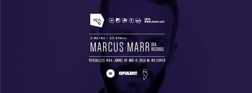 Marcus Marr en Mono