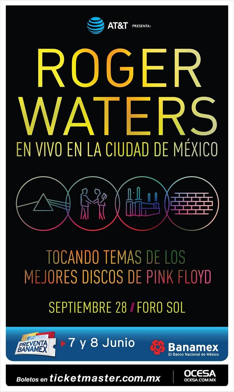 Roger Waters en CDMX