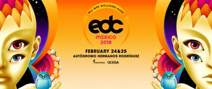 ART COVER EDC MEXICO 2018