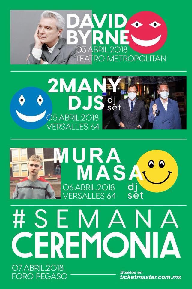 #SEMANACEREMONIA