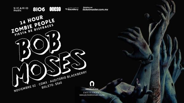 24 HR Zombies. Bob Moses. FBCover