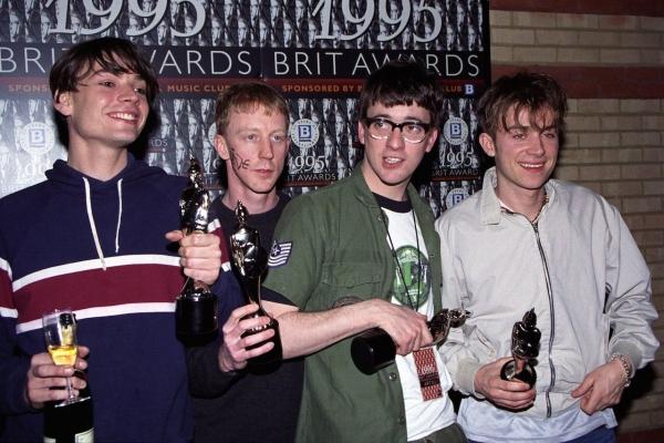 Blur en los Brit Awards (1995)