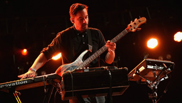 INDIO, CA - APRIL 11: Musician Bonobo performs onstage during day 1 of the 2014 Coachella Valley Music & Arts Festival at the Empire Polo Club on April 11, 2014 in Indio, California. (Photo by Jason Kempin/Getty Images for Coachella)